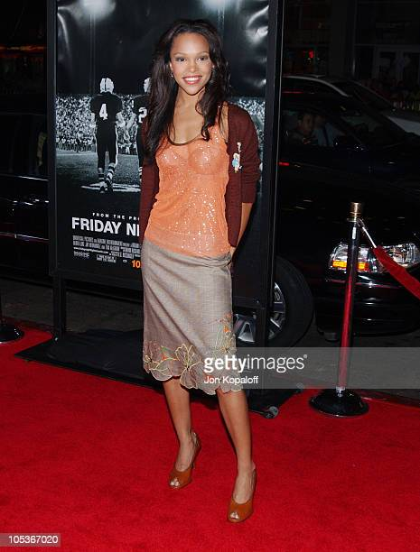 """Brook Kerr during """"Friday Night Lights"""" - World Premiere at Grauman's Chinese Theatre in Hollywood, California, United States."""