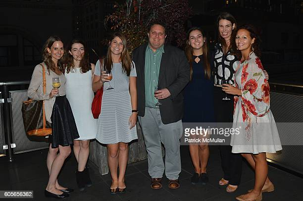 Brook Miche Valerie Itteilag Hannah Sellers Wayne Consiglio Taylor Buckley Laura Hooks and Liza Kuhn attend the Holland Sherry Embroidery Release at...