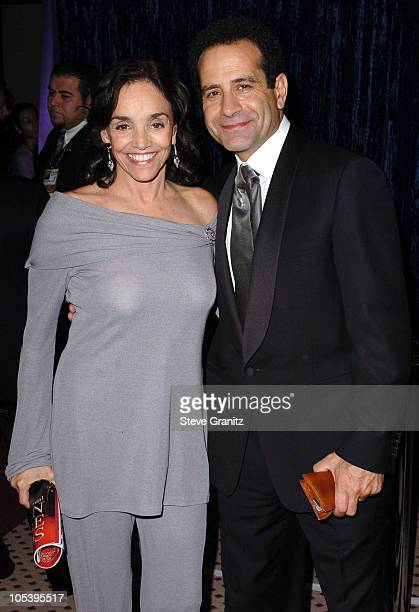 Brooke Adams and Tony Shalhoub during 62nd Annual Golden Globe Awards NBC Universal And Focus Features After Party in Beverly Hills California United...