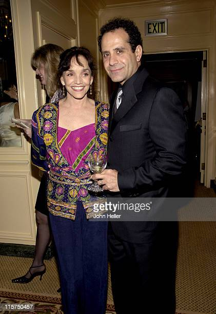 Brooke Adams and Tony Shalhoub during Junior League of Los Angeles Annual Spring Gala 'An Evening in the City of Light' Fundraiser at Regent Beverly...