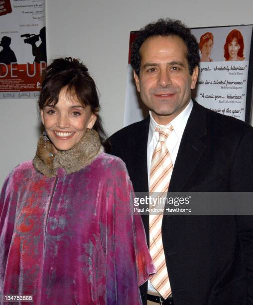 Brooke Adams and Tony Shalhoub during 'MadeUp' Premiere New York at Angelika Film Centre in New York City New York United States