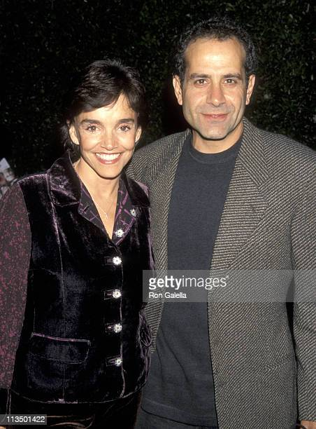 Brooke Adams and Tony Shalhoub during Screening of Showtime's Original Movie 'That Championship Season' at Samuel Goldwyn Theater in Beverly Hills...