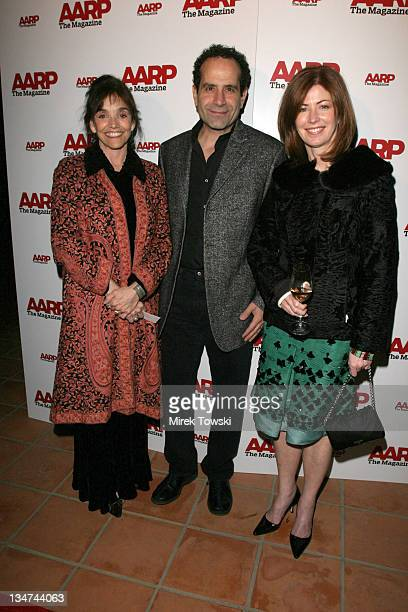 Brooke Adams, Tony Shalhoub and Dana Delany during 2006 Movies for Grown Up Awards - AARP Magazine Gala at Bel Air Hotel in Bel Air, California,...