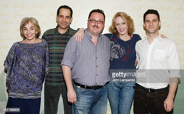 Brooke Adams Tony Shalhoub Jay Klaitz Jan Maxwell and Justin Bartha promote Lend Me A Tenor>> at Barnes Noble Lincoln Triangle on June 17 2010 in New...