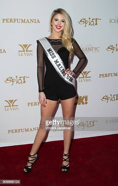 Brooke Ashlynn attends OK Magazine's Annual Pre GRAMMY party at Lure on February 12 2016 in Hollywood California