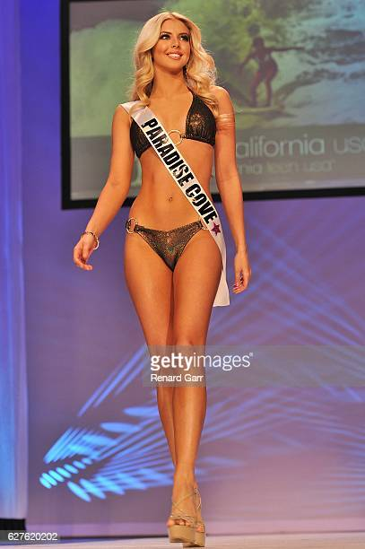 Brooke Ashlynn Miller attends 2017 Miss California USA Pageants Preliminary Competition at Terrace Theater on December 3 2016 in Long Beach California