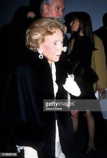 Brooke Astor at event New York December 1 1999