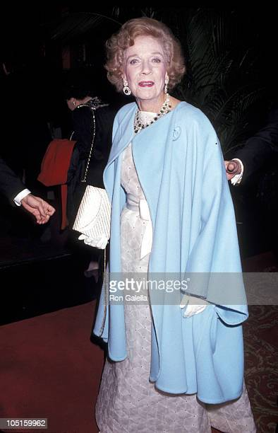 Brooke Astor during 90th Birthday Party For Brooke Astor at 7th Regiment Armory in New York City New York United States