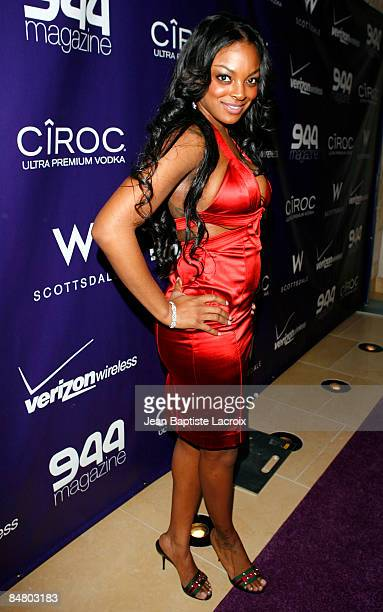 Brooke Bailey attends the Ciroc Vodka at 944 party at the W Hotel on February 14 2009 in Scottsdale Arizona