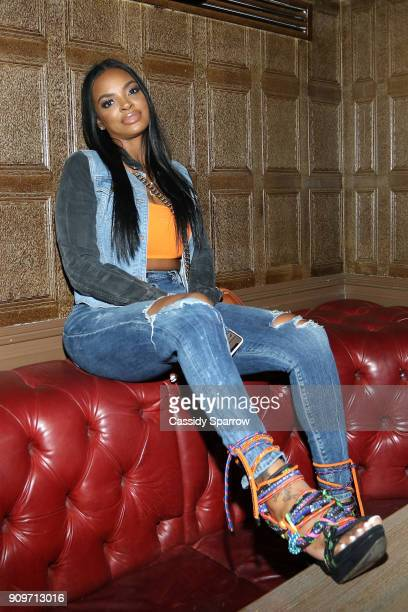 Brooke Bailey Attends The Eric Bellinger Grammy Week Lounge Lounge at Suite 36 on January 23 2018 in New York City