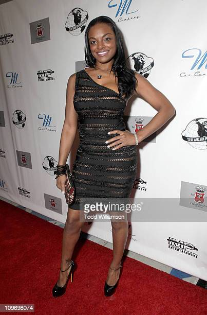 Brooke Bailey attends the IMP Entertainment And Steve Marlton Worldwide Allstar Event Day 2 at Siren Studios on February 20 2011 in Hollywood...