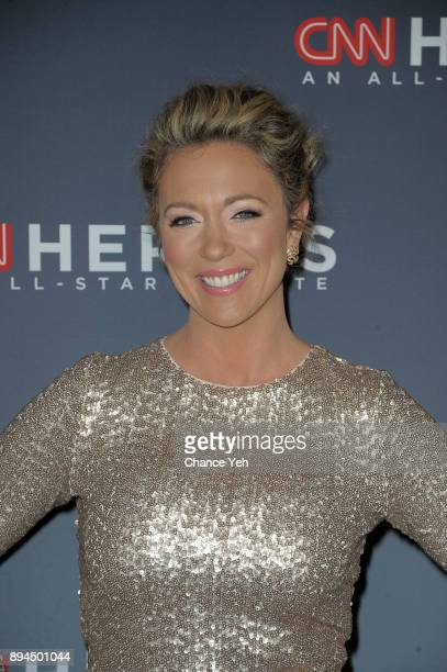 Brooke Baldwin attends 11th Annual CNN Heroes An AllStar Tribute at American Museum of Natural History on December 17 2017 in New York City