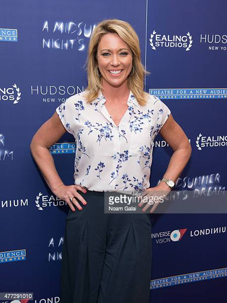 Brooke Baldwin attends 'A Midsummer Night's Dream New York premiere at DGA Theater on June 15 2015 in New York City