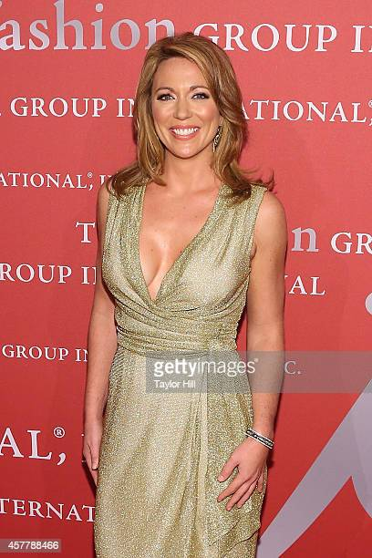 Brooke Baldwin attends Fashion Group International's 31st Annual Night of Stars: The Protagonists at Cipriani Wall Street on October 23, 2014 in New...