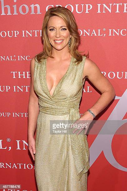 Brooke Baldwin attends Fashion Group International's 31st Annual Night of Stars The Protagonists at Cipriani Wall Street on October 23 2014 in New...