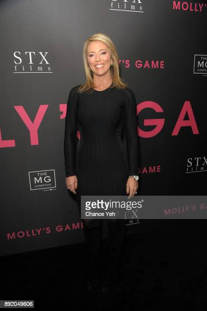 Brooke Baldwin attends Molly's Game New York premiere at AMC Loews Lincoln Square on December 13 2017 in New York City