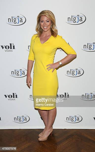 Brooke Baldwin attends the 20th Annual NLGJA's Headlines and Headliners at Prince George Ballroom on April 16 2015 in New York City