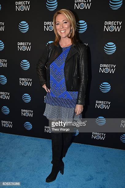 Brooke Baldwin attends the DirectTV Now Launch at Venue 57 on November 28 2016 in New York City