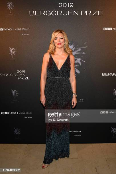 Brooke Baldwin attends the Fourth Annual Berggruen Prize Gala celebrating 2019 Laureate Supreme Court Justice Ruth Bader Ginsburg in New York City on...