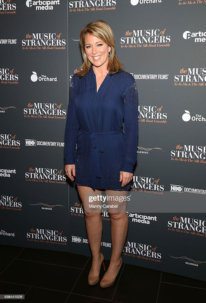 """The Music Of Strangers"" New York Screening : News Photo"