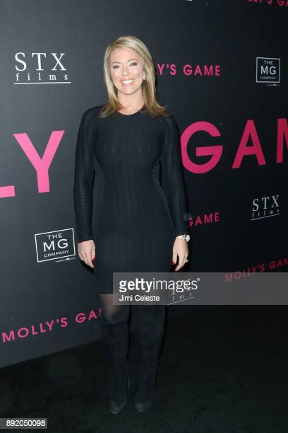 Brooke Baldwin attends the New York premiere of Molly's Game at AMC Loews Lincoln Square on December 13 2017 in New York City