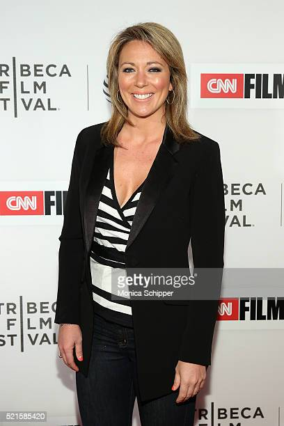 Brooke Baldwin attends Tribeca Talks After The Movie Jeremiah Tower The Last Magnificent at BMCC John Zuccotti Theater on April 16 2016 in New York...