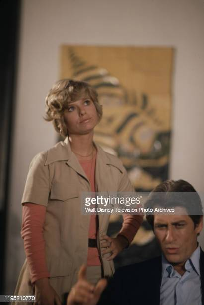 Brooke Bundy Albert Stratton appearing in the ABC tv series 'The Wide World of Mystery' episode 'The Centerfold Murders'