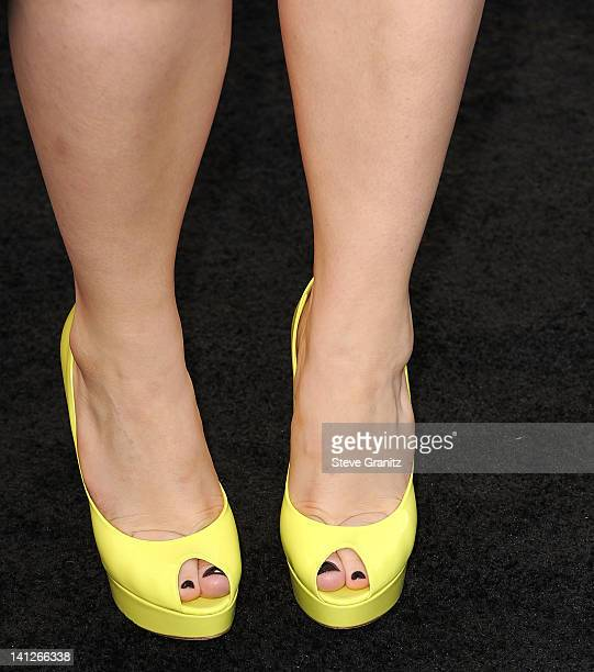 Brooke Bundy attends The Hunger Games Los Angeles Premiere on March 12 2012 in Los Angeles United States