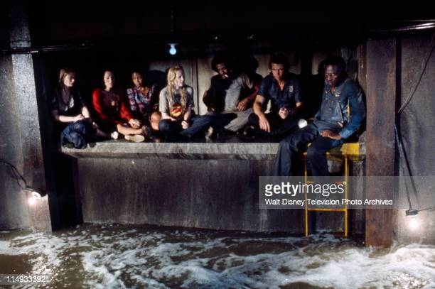 Brooke Bundy Suzanne Charney Abbey Lincoln Laurette Spang Don Mitchell James Brolin James McEachin appearing in the ABC tv movie 'Short Walk to...