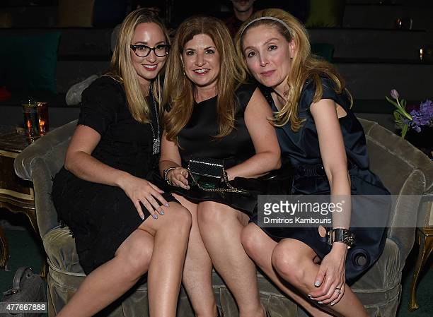 Brooke Burdine Lori Singer and Victoria Blaustein attend Marc Jacobs And Coty Celebrate DECADENCE on June 18 2015 in New York City