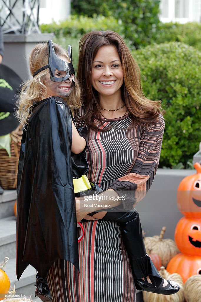 Brooke Burke And Daughter Heaven Rain Charvet Attend The
