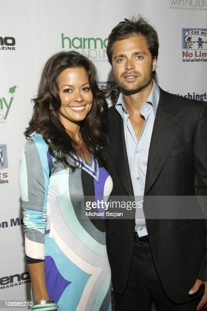 Brooke Burke and David Charvet during Harmony with No Limits Premiere Gala Presented by Washington Mutual - April 21 2006 at Skirball Cultural Center...