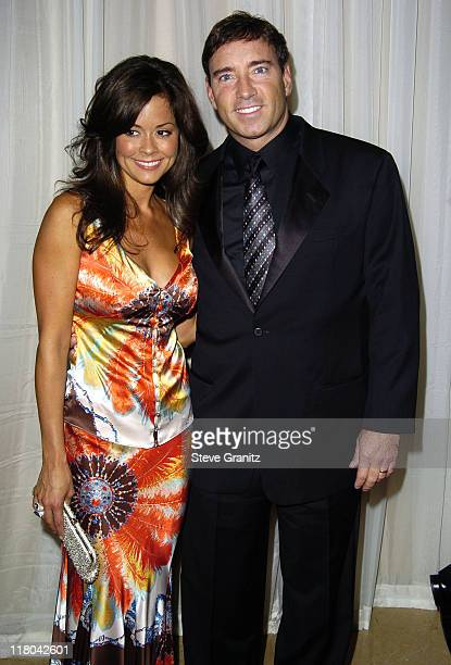 Brooke Burke and Dr Garth Fisher during Noche de Ninos Childrens Hospital Los Angeles Gala Arrivals at Beverly Hilton Hotel in Beverly Hills...