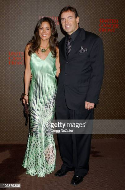 Brooke Burke and Dr. Garth Fisher during The Louis Vuitton United Cancer Front Gala at Universal Studios in Universal City, California, United States.