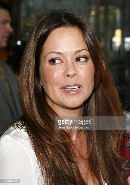 Brooke Burke arrives for the book release party Of 'The Hot Mom To Be Handbook Womb With A View' on April 2 2008 at Pea in the Pod in Beverly Hills...