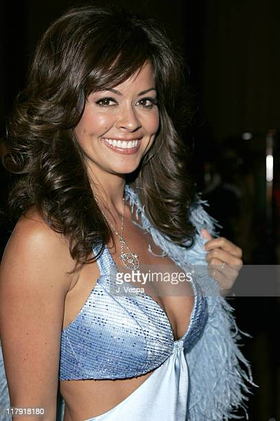 Brooke Burke during 12th Annual Race to Erase MS CoChaired by Tommy Hilfiger and Nancy Davis Backstage and Audience at The Westin Century Plaza Hotel...