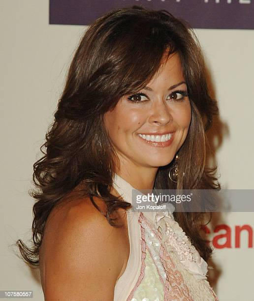 Brooke Burke during 12th Annual Race to Erase MS Themed Rock Royalty to Erase MS Arrivals at The Westin Century Plaza Hotel Spa in Los Angeles...