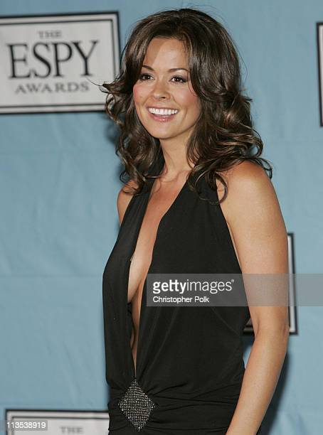 Brooke Burke during 2004 ESPY Awards Press Room at Kodak Theatre in Hollywood California United States