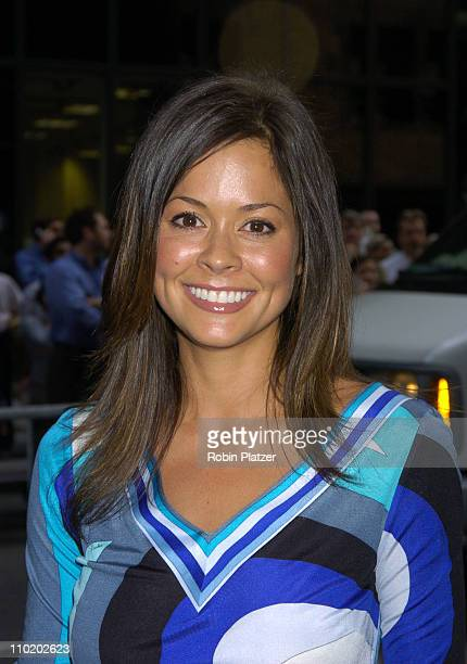 Brooke Burke during ABC 2004/2005 Primetime Upfront - Arrivals at Cipriani's in New York City, New York, United States.