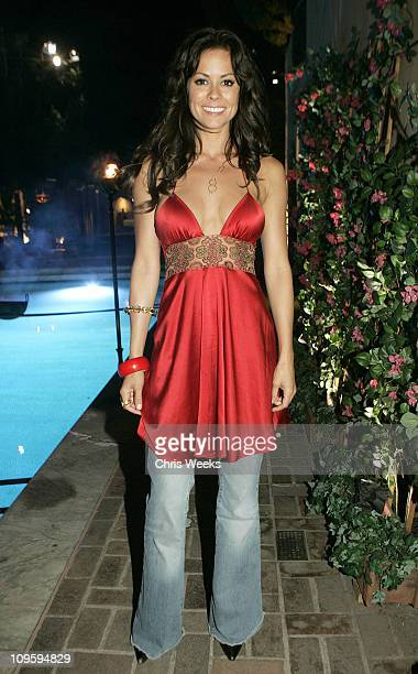 Brooke Burke during Belvedere Vodka Hosts the Second Rock Star INXS Mansion Jam at Private Residence in Los Angeles California United States