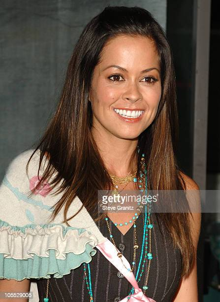 Brooke Burke during CBS Summer 2005 Press Tour Party - Arrivals at Hammer Museum in Westwood, California, United States.