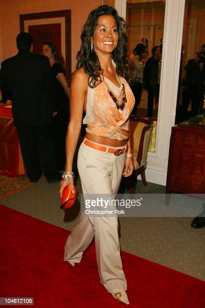Brooke Burke during InStyle Sneak Peek at Red Carpet Fashion for the 2003 Awards Season at Beverly Hills Hotel in Beverly Hills CA United States