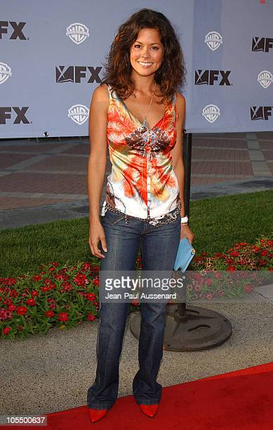 """Brooke Burke during """"Nip/Tuck"""" Season Two Premiere - Arrivals at Paramount Theatre in Los Angeles, California, United States."""