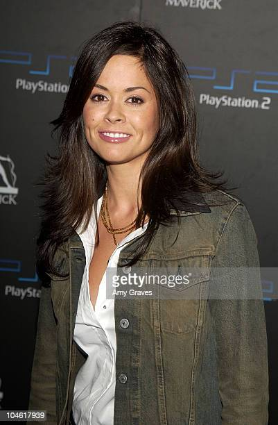 Brooke Burke during PlayStation2 and Guy Oseary Host Online Gaming Tournament for Charity at Private Residence in Beverly Hills California United...