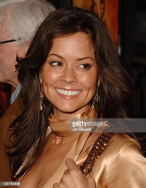 Brooke Burke during Sahara Los Angeles Premiere Arrivals at Grauman's Chinese Theater in Hollywood California United States