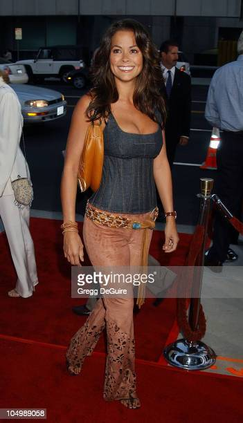 """Brooke Burke during """"Serving Sara"""" Premiere at Academy Theatre in Beverly Hills, California, United States."""