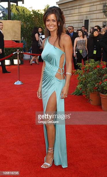 Brooke Burke during The 30th Annual People's Choice Awards - Arrivals at Pasadena Civic Auditorium in Pasadena, California, United States.