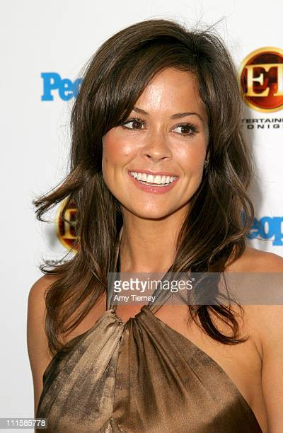 Brooke Burke during The 56th Annual Primetime Emmy Awards People Magazine ET Party at Mondrian in West Hollywood California United States