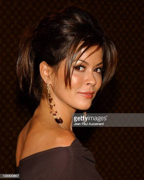 Brooke Burke during The Louis Vuitton United Cancer Front Gala Arrivals at Private Residence in Holmby Hills California United States