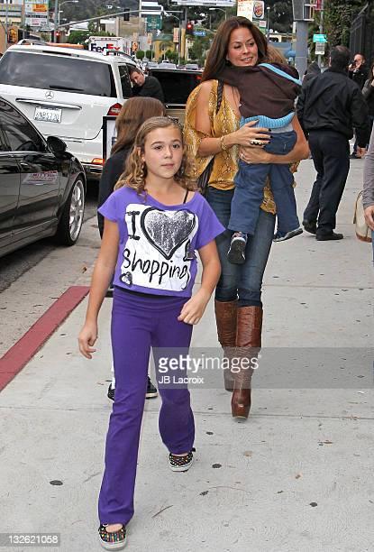 Brooke Burke is seen at the Jim Henson Studios on November 12 2011 in Los Angeles California